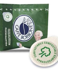 150 Cialde carta da 44mm Caffè Borbone miscela Verde Dek