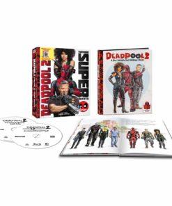 DeadPool 2 Versione supedotata - Blu Ray + Libro del film in inglese