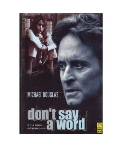 DVD Don't say a world