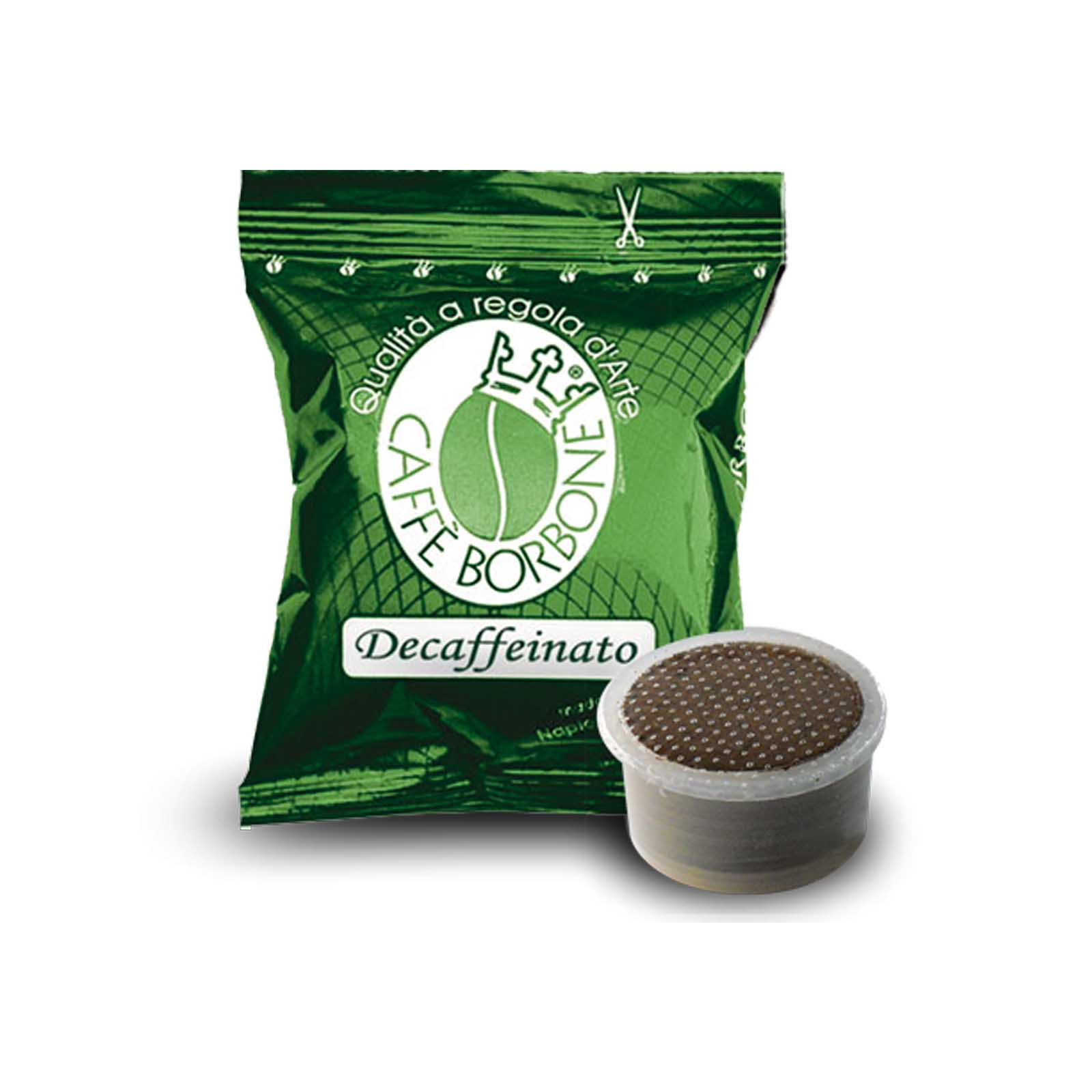 100 capsule caffè borbone verde