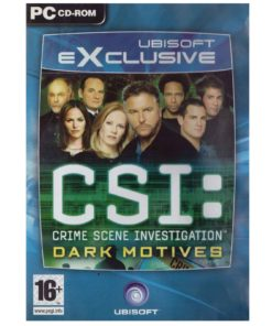 Gioco PC CSI crime scene investigation Dark Motives