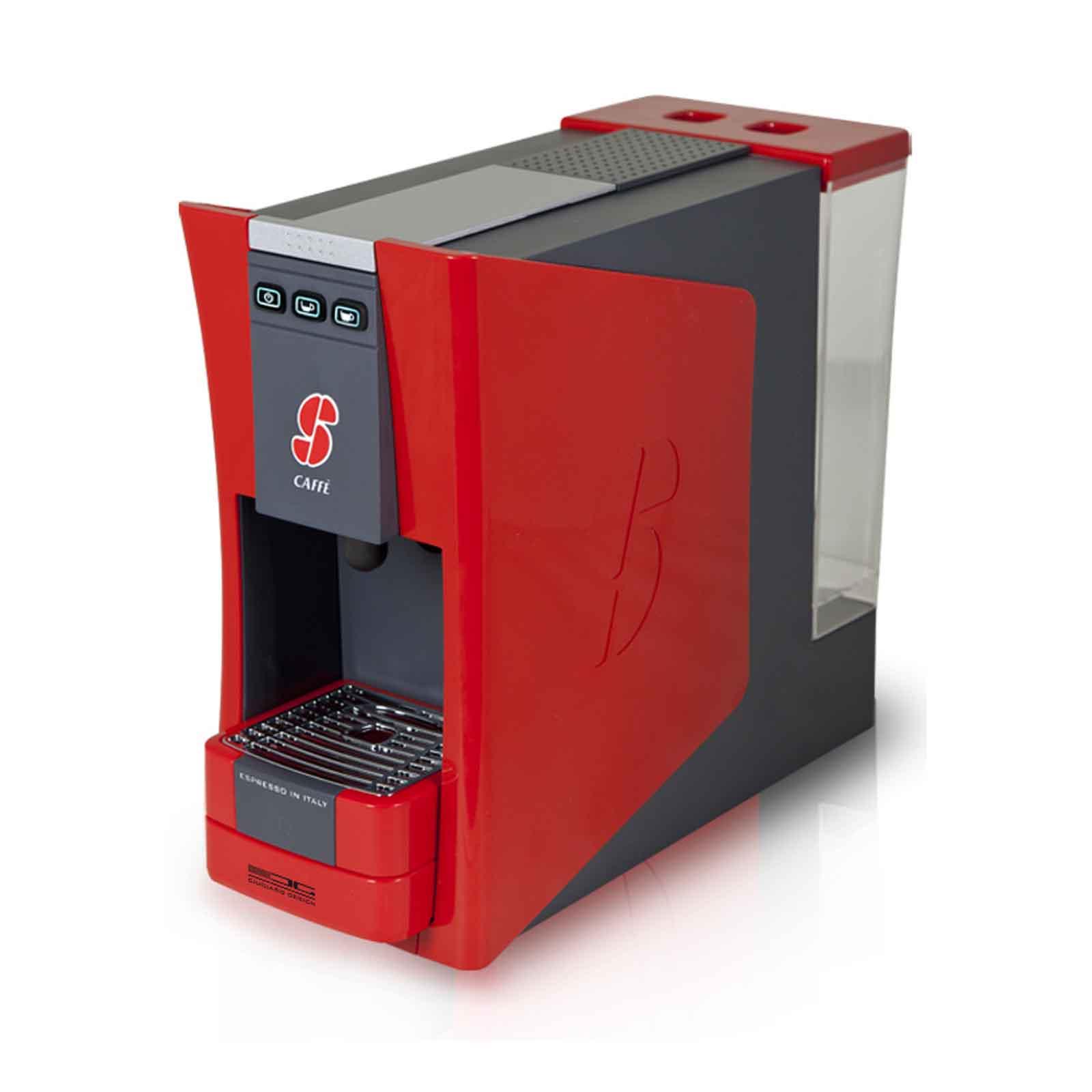 il male collaterale anca  Macchina da caffè S.12 Esse Caffè Rossa per capsule sistema ESSSE + 100  capsule | eBay
