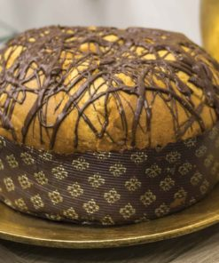 Panettone artigianale siciliano pera e cioccolato