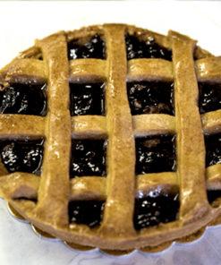 Crostata con crema cioccolato