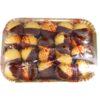 Baci di Dama frolla glassata al cioccolato con confettura albicocca 500 gr