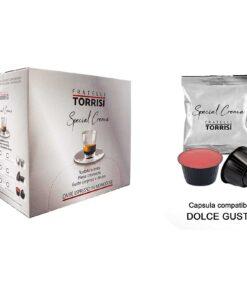 96 Capsule compatibili Nescafè Dolce Gusto Caffè Torrisi Special Crema