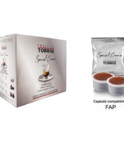 100 Capsule compatibili Lavazza Espresso Point Caffè Torrisi Special Crema