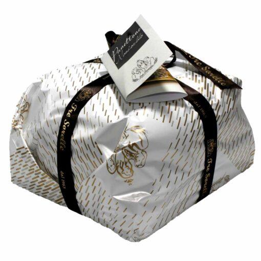 Panettone artigianale siciliano Tre Sorelle mandorlato 1 Kg
