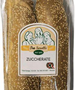 Zuccarati da 300 gr - Zuccherate Grossi grissini zuccherati tipici siciliani