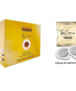 150 Cialde da 44mm Caffè Torrisi Top Crema caffè espresso monodose